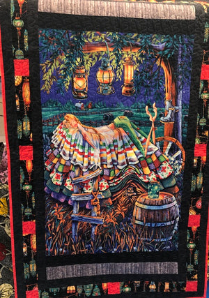 UF Finished Quilt Princess and the Pea Prairie