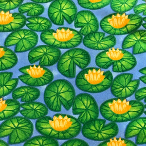 Fat Quarter Frenzy Children Froggin Around Lily Pads