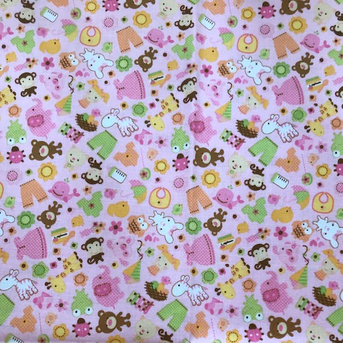 Fat Quarter Frenzy Children Sweet Baby Girl