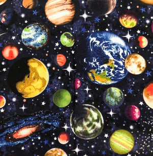 Fat Quarter Frenzy Other Cosmic Space Planets