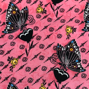 Fat Quarter Frenzy Other Dance and Romance Pink Butterflies