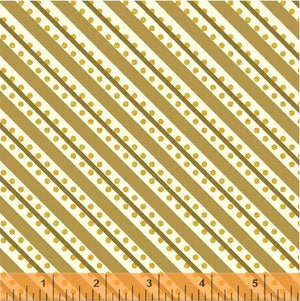 Sparkle Gold Diagonal Stripes