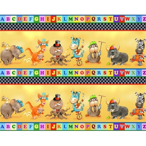 Alphabet Friends Border
