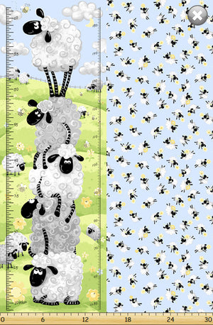 End of Bolt Lewe the Ewe Growth Chart