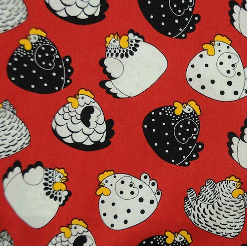 Fat Quarter Frenzy Children Brite Happy Hens