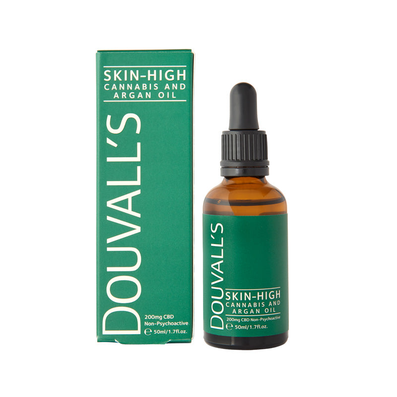 skin high, Douvalls CBD oil, cbd oil, cbd, cbd face oil, cbd body oil, cbd hair oil, cbd, CBD, sooting, calming, hydrating, skin conditions, cbd oil for body, cbd oil for face, Thc free, organic, vegan, natural, no THC, no mind altering affects, plant based, non isolate cbd, full spectrum cbd, cannabinoids, cannabis oil.