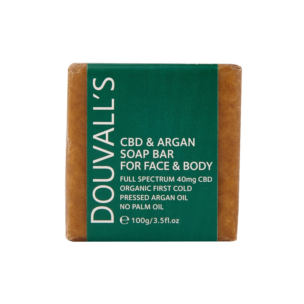 Argan & CBD 40mg Soap 100g
