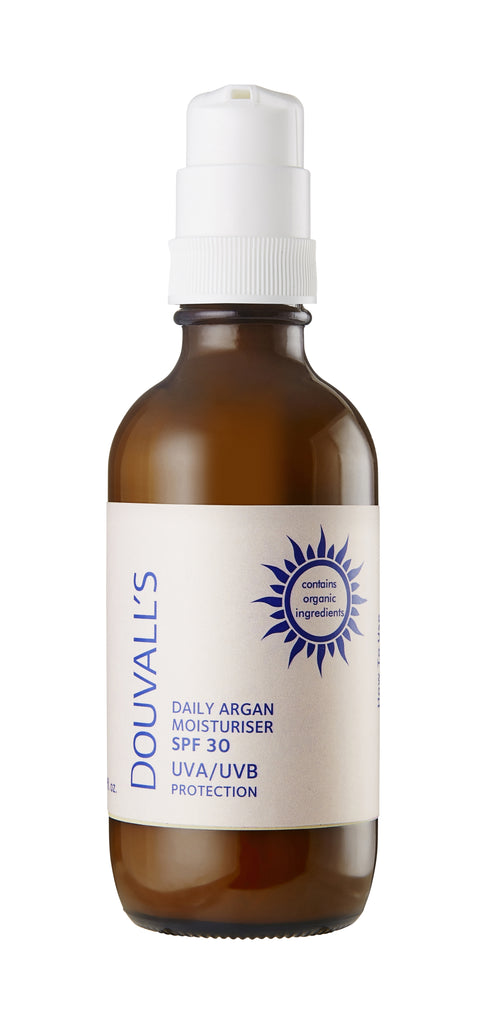 Argan Daily Moisturiser with SPF30 UVA/UVB protection 120ml