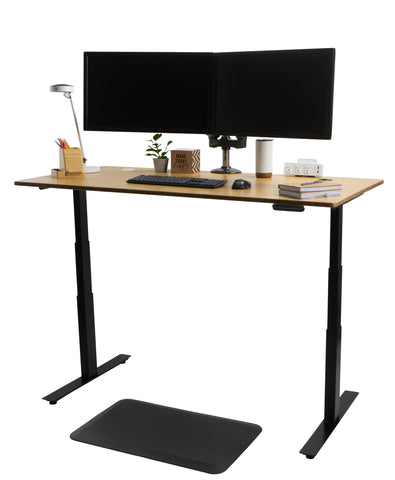 Standing Desk with Monitor mount