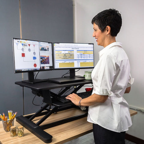 Freedom E Desk, Sit-Stand Electric Converter