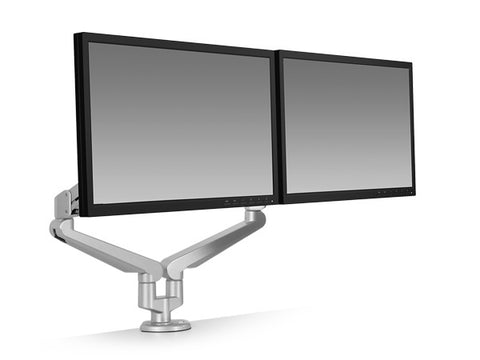 dual monitors with monitor arm