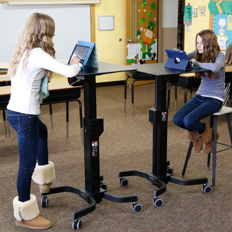 standing desk for students