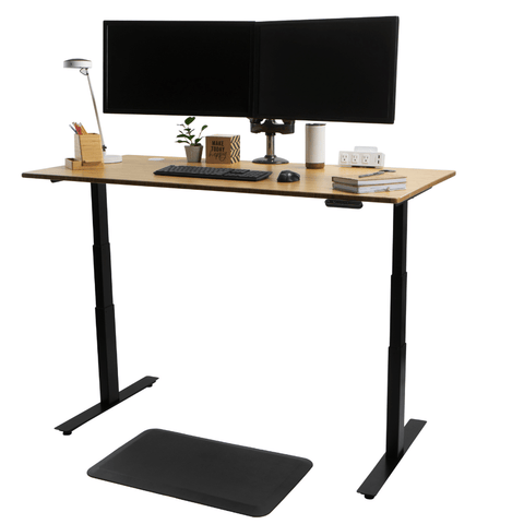 Solid Bamboo Standing Desk