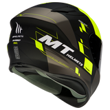 CASCO MT TARGO RIGEL A3 MATT FLUOR YELLOW