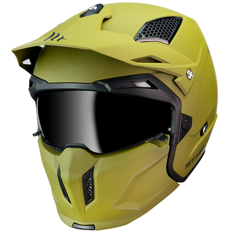 CASCO MT STREETFIGHTER SV SOLID A6 MATT GREEN