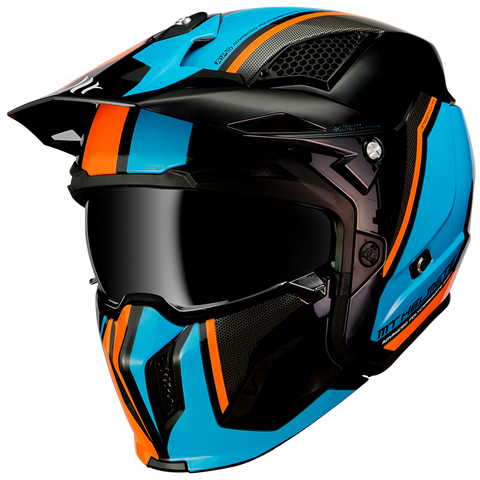 CASCO MT STREETFIGHTER SV TWIN A4 GLOSS FLUOR ORANGE