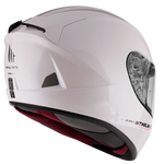CASCOS MT BLADE 2 SV SOLID A0 GLOSS PEARL WHITE