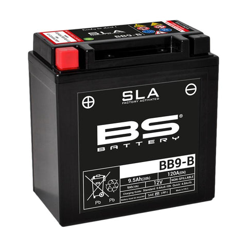 BATERIA BB9-B BS BATTERY (12N9-4B)