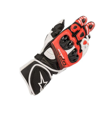GUANTES ALPINESTARS GP PLUS R V2 BLACK/WHITE/RED