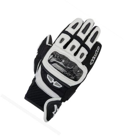 GUANTES  ALPINESTARS GP-AIR LEATHER BLACK/ WHITE