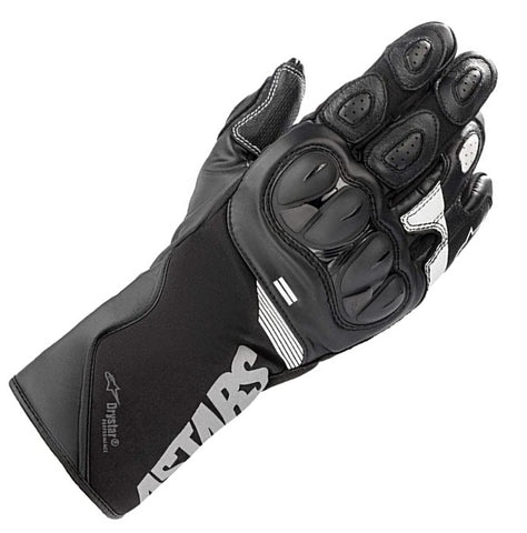 GUANTES  ALPINESTARS SP-365 DRYSTAR BLACK/WHITE