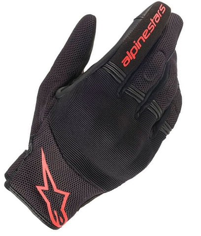 GUANTES  ALPINESTARS COPPER BLACK/RED FLUORESCENT