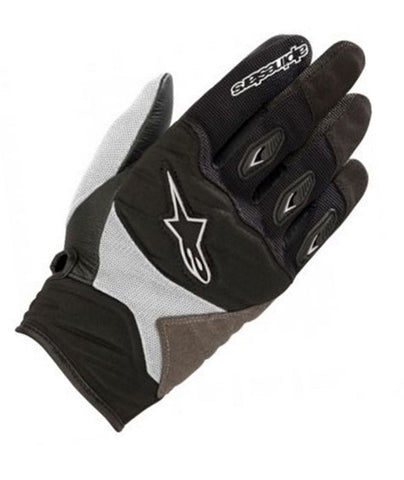 GUANTES ALPINESTARS WOMEN'S SHORE  BLACK/WHITE