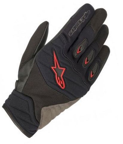 GUANTES ALPINESTARS SHORE  BLACK/RED