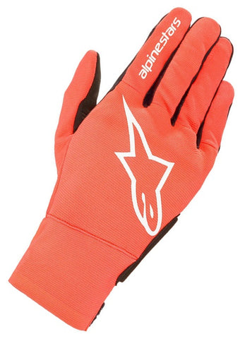 GUANTES  ALPINESTARS REEF  RED FLUORESCENT  BLACK WHITE