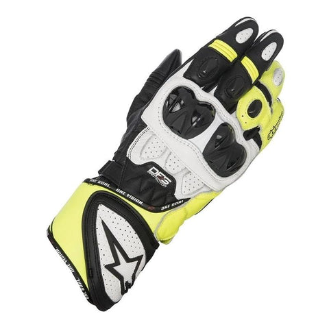 GUANTES ALPINESTARS SP-1 BLACK / WHITE / YELLOW