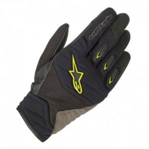 GUANTES ALPINESTARS SHORE  BLACK/YELLOW FLUORESCENT