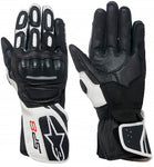 GUANTES  ALPINESTARS STELLA SP-8 V2 LEATHER  BLACK/ WHITE
