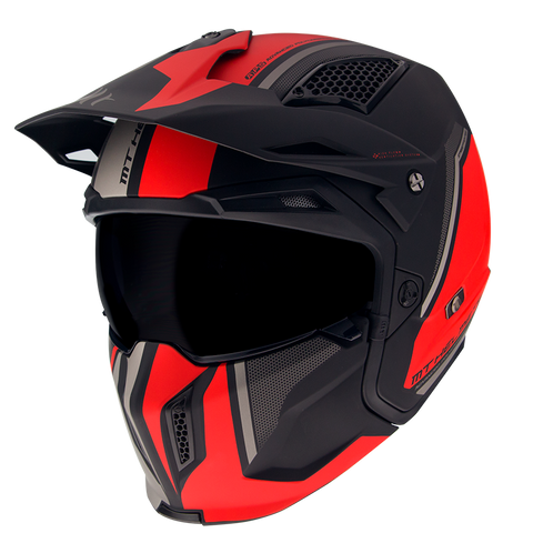 CASCO MT STREETFIGHTER SV TWIN C5 MATT RED