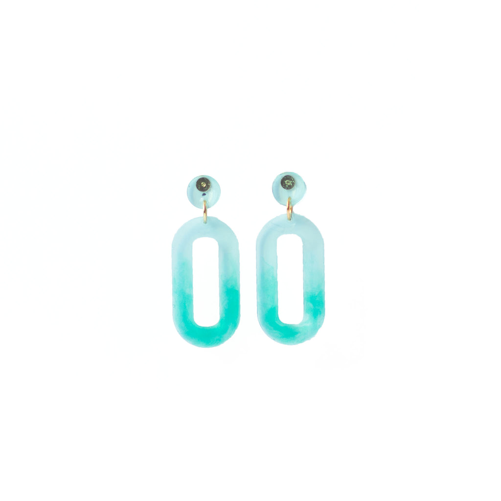 bright ombre earrings