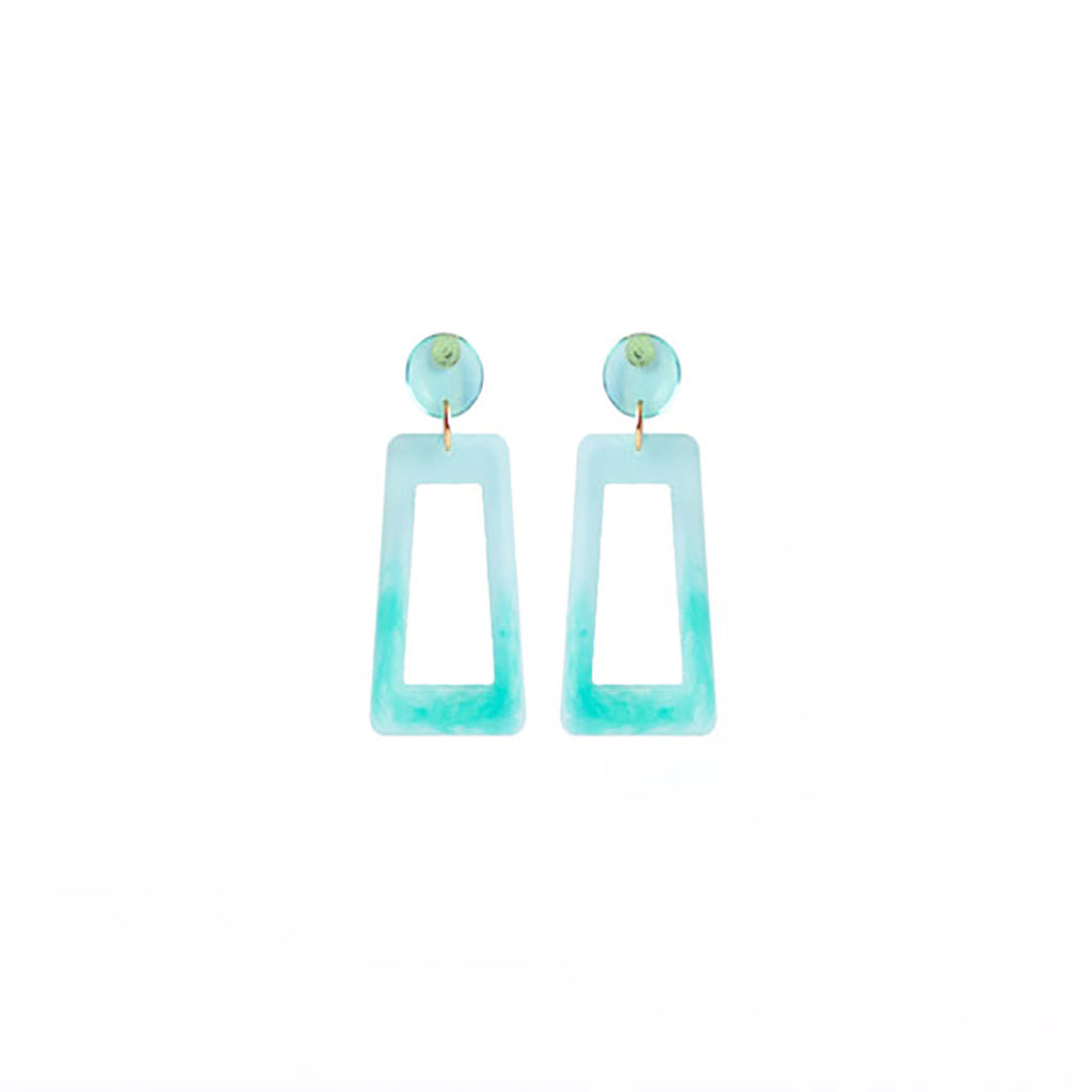 colorful acrylic earrings