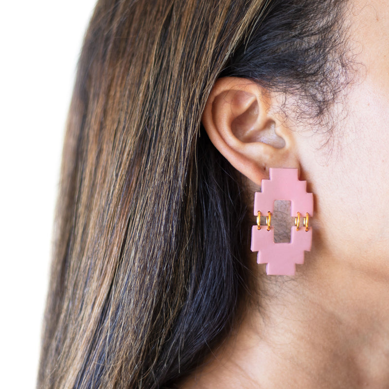 (Wholesale) Aztec Earrings