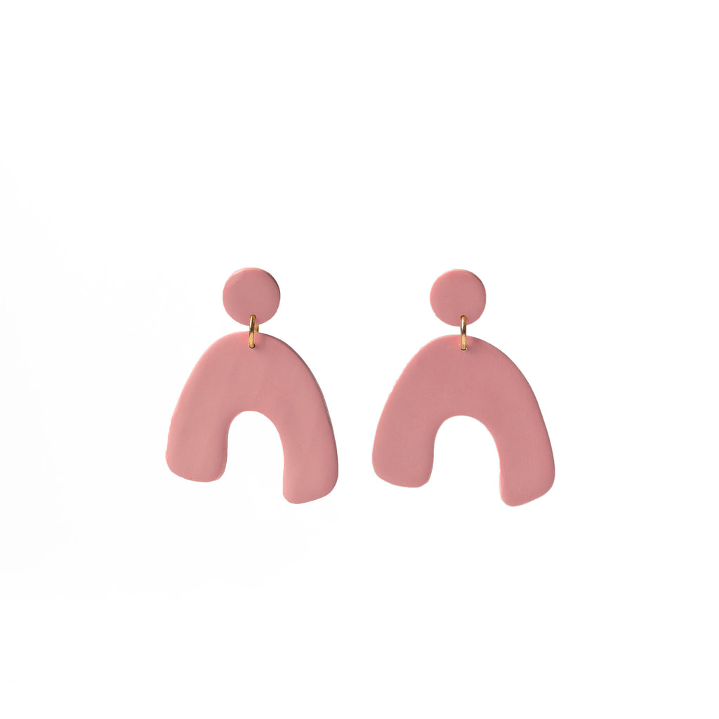 minimalist drop earrings