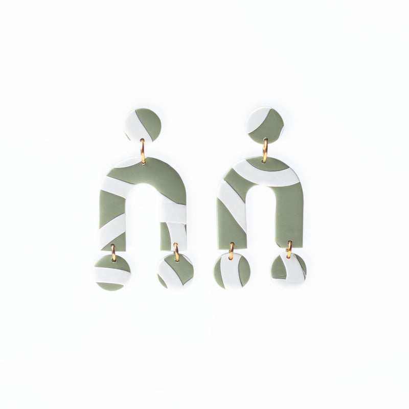 modern abstract earrings