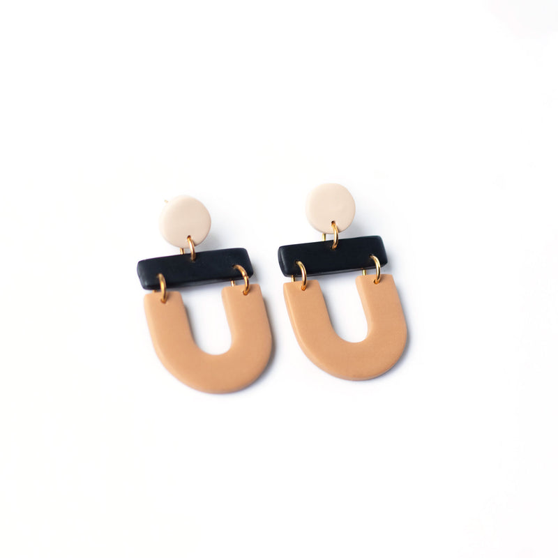 modern dangle earrings