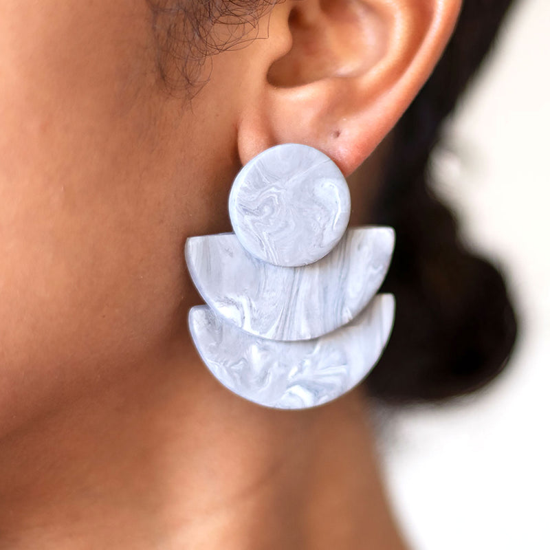 modern handmade earrings