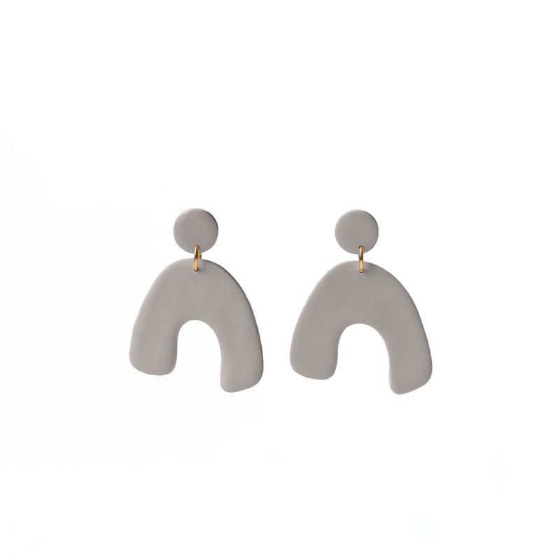 wishbone drop earrings