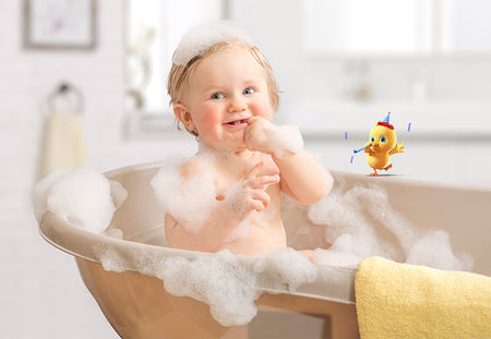 Bath Time For Newborn Babies