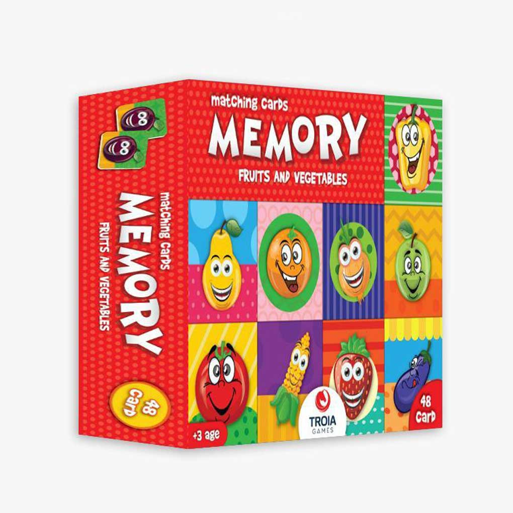 Memory Fruit & Vegetable 48pcs