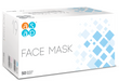 Box of Type IIR surgical face masks. ASAP branded