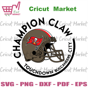 Champion Claw Touchdown Buccaneers City Svg, Sport Svg, Tampa Bay Buccaneers Svg, Tampa Bay Buccaneers Football Team Svg, Tampa Bay Buccaneers Helmet Svg, Buccaneers Logo Svg, Buccaneers Fans