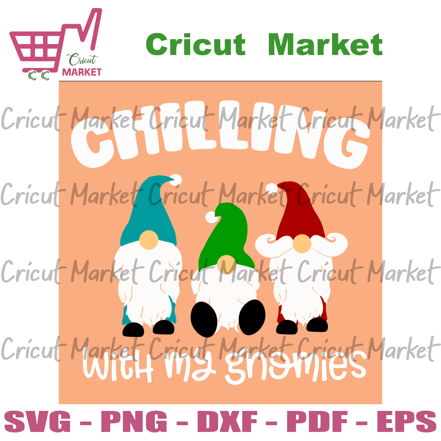Chillin with my gnomies, christmas svg, chill svg, chilling svg, gnomies svg, gnomy svg, gnomies squad svg, my gnomies svg, xmas svg, christmas gnomy, gnome svg, gnomos svg, christmas gnomy -