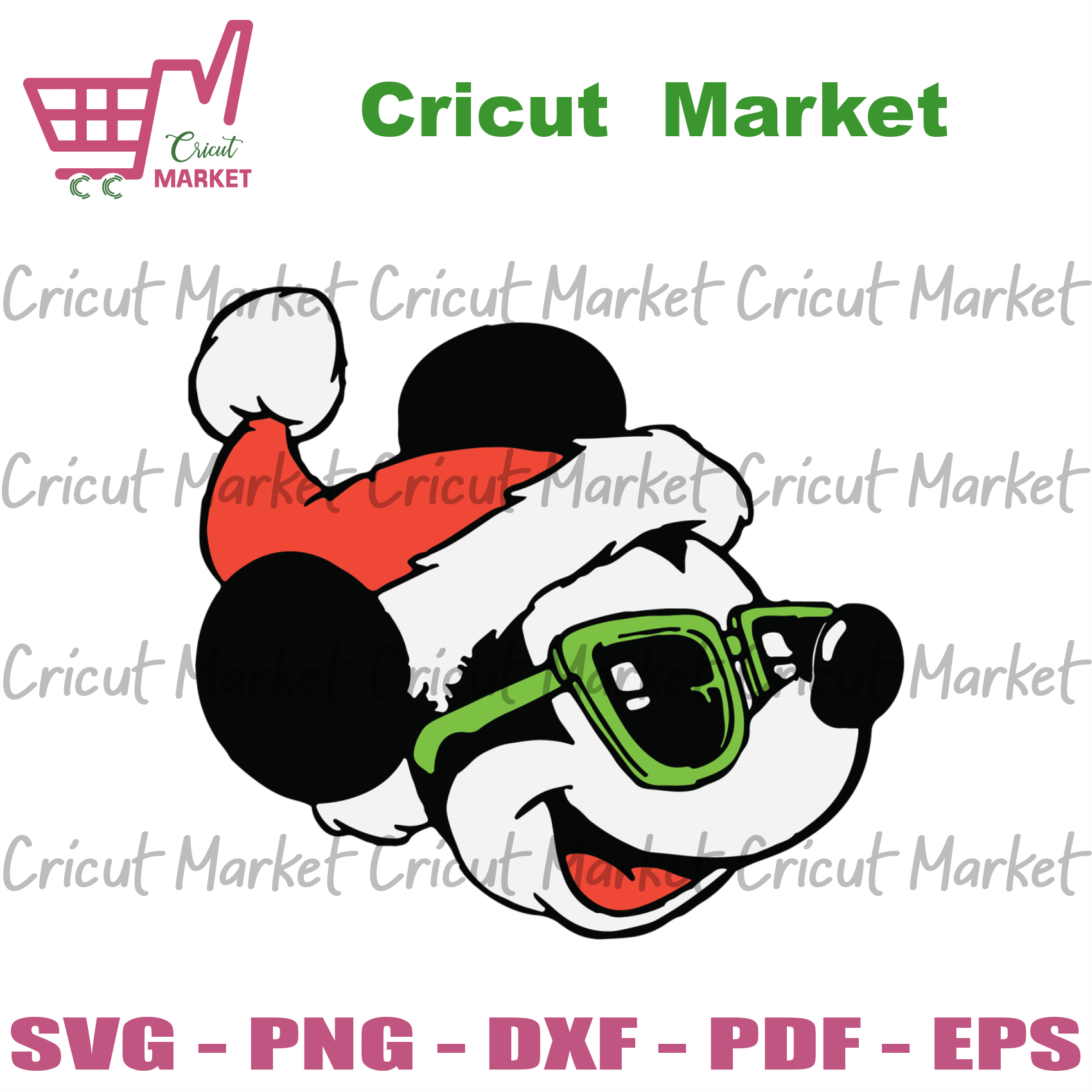 Cool Christmas Mickey, Christmas Svg, Mickey Svg, Mickey Mouse Svg, Mickey Lovers, Sunglasses Svg, Christmas Gifts, Merry Christmas, Christmas Holiday, Christmas Party, Funny Christmas, Xmas