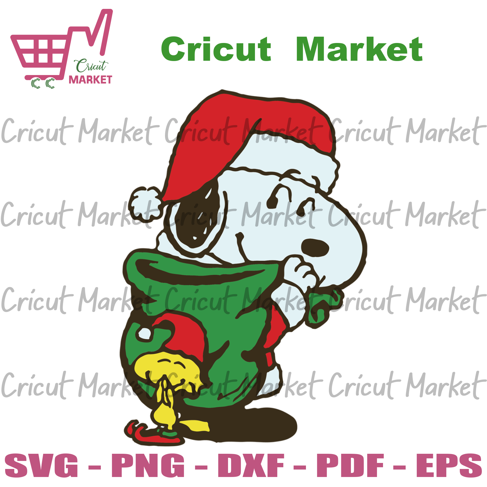 Cute Santa Snoopy, Christmas svg, Christmas gift, Christmas day, Christmas time, Snoopy svg, Snoopy cartoon, Santa Snoopy, cute Santa Snoopy, Snoopy fan, sweet Snoopy, gift from Snoopy - Cric