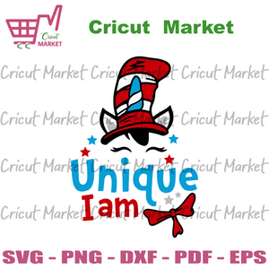 Unique I Am Svg, Trending Svg, Dr Seuss Svg, Thing Svg, Cat In Hat Svg, Catinthehat Svg, Thelorax Svg, Dr Seuss Quotes Svg, Lorax Svg, Thecatinthehat Svg, Green Egg Sandham Svg, Dr Seuss Birthday Svg