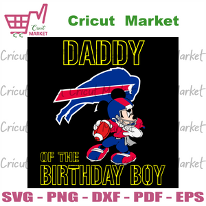 Daddy Of The Birthday Boy Buffalo Bills Svg, Sport Svg, Birthday Svg, Buffalo Bills Svg, Birthday Boy Svg, Daddy Svg, Happy Birthday Svg, Bills Svg, Bills Lovers Svg, Bills Football Svg, NFL